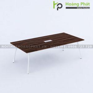 Bàn họp chân sắt mặt gỗ công nghiệp BRH2412MG