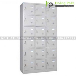 Tủ sắt locker 18 ngăn TU986-3K