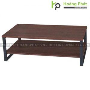 Bàn sofa gỗ khung thép Hòa Phát BSF85