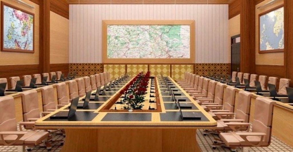 6 kiểu xếp bàn hội nghị bạn nên biết - Nội thất Hoàng Phát | Siêu ...