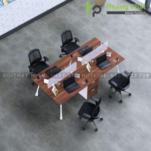 Module bàn làm việc 4 chỗ MD04H1MG