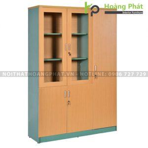 Tủ văn phòng vàng xanh TUS1960-3BK